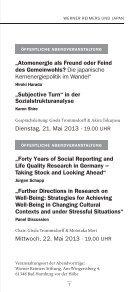 Veranstaltungsprogramm - Forschungskolleg Humanwissenschaften - Seite 7