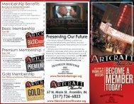 membership form. - Artcraft Theatre