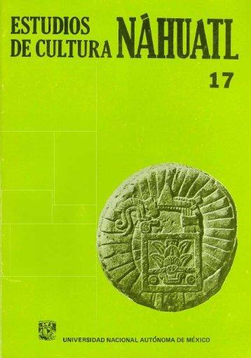 estudios decultura 17 - Instituto de Investigaciones Históricas