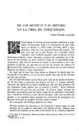 de los motivos y el método en la obra de torquemada - Instituto de ...
