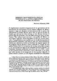 Es ampliamente conocida la importancia de las aportaciones - UNAM