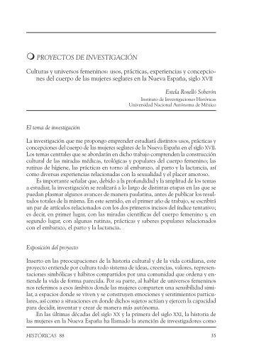 Culturas y universos femeninos - Instituto de Investigaciones ...