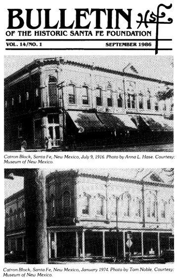Catron Block - Historic Santa Fe Foundation