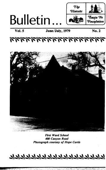 First Ward School - Historic Santa Fe Foundation