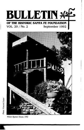 Witter Bynner House - Historic Santa Fe Foundation