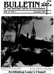 Archbishop Lamy's Chapel - Historic Santa Fe Foundation