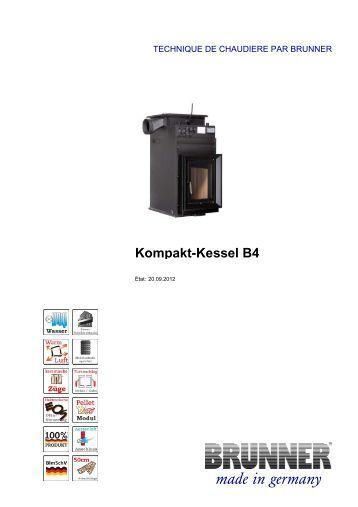 Kompakt-Kessel B4 made in germany - Brunner