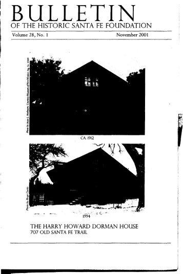 Harry Howard Dorman House - Historic Santa Fe Foundation