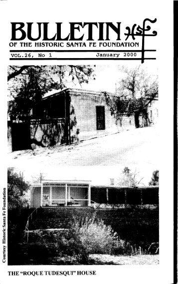 Roque Tudesqui House - Historic Santa Fe Foundation