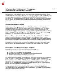 Haftungsverbund (PDF, 47 KB) - Sparkasse Oberpfalz Nord