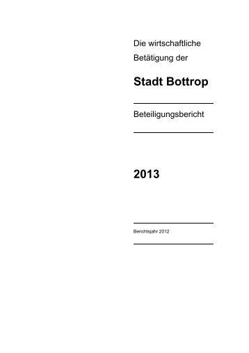 Beteiligungsbericht 2012 - Bottrop