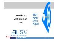 Vortrag des Referenten der Sparkasse Mittelfranken-Süd - blsv