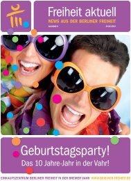 Geburtstagsparty! - Berliner Freiheit
