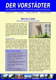 Ausgabe Juli 2013 - Der Vorstädter