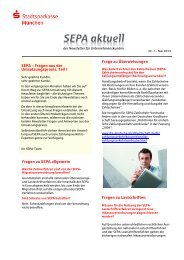 Ausgabe 05/2013 (PDF) - Stadtsparkasse München