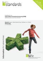 (IKM). Deutsch – Mathematik (3. Schulstufe) - Bifie