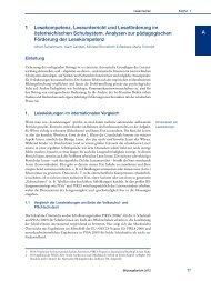 Nationaler Bildungsbericht Österreich 2012, Band 2, Kapitel 1 ... - Bifie