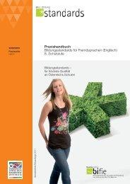 Praxishandbuch Bildungsstandards für Fremdsprachen (Englisch) 8 ...