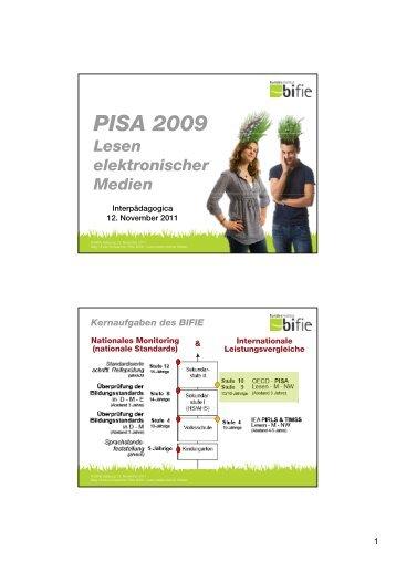 PISA 2009 - Bifie
