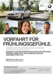 und Zubehör-Spezialisten. - BMW Niederlassung Stuttgart