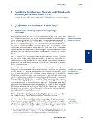 Nationaler Bildungsbericht Österreich 2012, Band 2, Kapitel 7 ... - Bifie