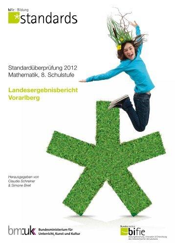 Landesergebnisbericht Vorarlberg - Bifie