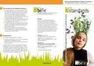 Bildungsstandards Baseline Folder Schulleiter und Lehrer - Bifie