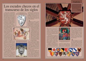 Los escudos checos en el transcurso de los siglos