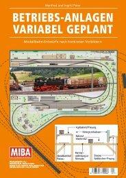 BETRIEBS-ANLAGEN VARIABEL GEPLANT - Verlagsgruppe Bahn
