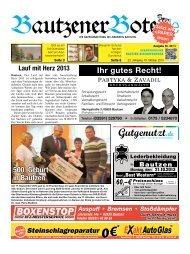 19.Oktober 2013 - BautzenerBote.de