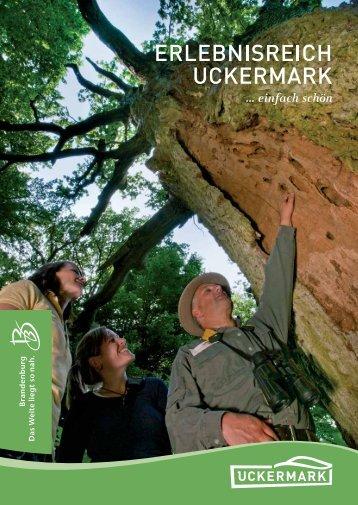 Erlebnisreich Uckermark - Bahn