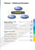 Tensor – Elektroschrauber - Atlas Copco - Page 5