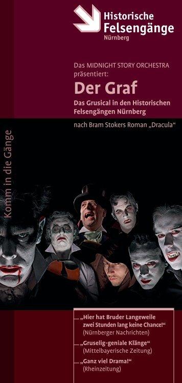 Flyer jetzt herunterladen - Die Historischen Felsengänge in Nürnberg
