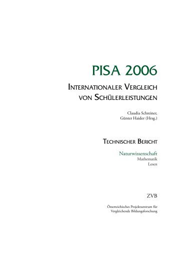 PISA 2006 Technischer Bericht - Bifie