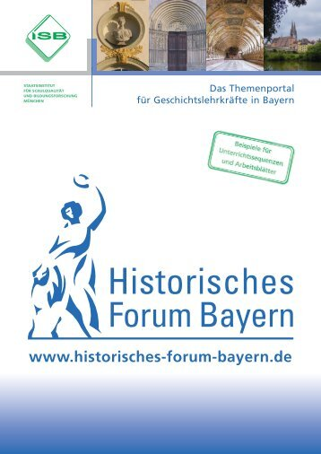 Hinweis - Historisches Forum Bayern