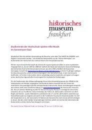 17. Mai 2013 (Download) - Historisches Museum Frankfurt ...