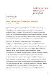 pdf Download - Historisches Museum Frankfurt - Frankfurt am Main