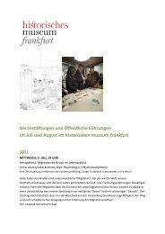 Download - Historisches Museum Frankfurt - Frankfurt am Main