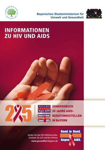 INFORMATIONEN ZU HIV UND AIDS - Historisches Lexikon Bayerns