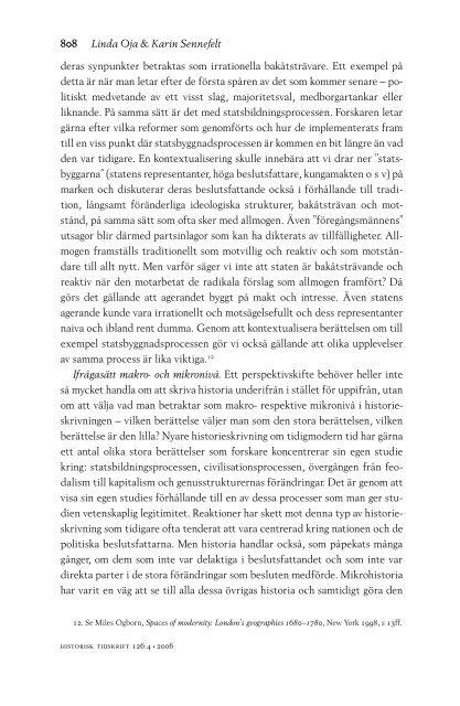 Fulltext - Historisk Tidskrift