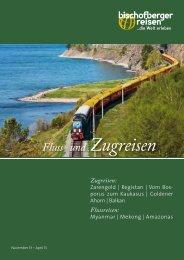 Zum Katalog (PDF) - Bischofberger Info-Reisen AG