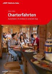 Charterfahrten - RhB