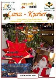Lanz-Kurier - avendi Senioren Service GmbH