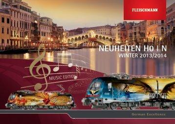 Neuheiten Winter 2013/2014 - Fleischmann