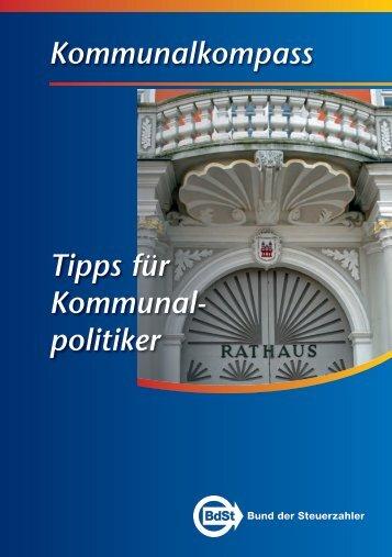 """Kommunalkompass """"Tipps für Kommunalpolitiker ... - CDU Krefeld"""