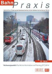 12 · 2013 - Eisenbahn-Unfallkasse