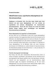 Pressemitteilung herunterladen - Heiler