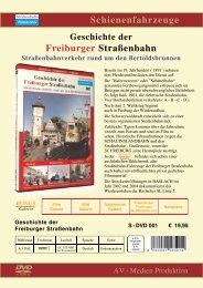 Schienenfahrzeuge Freiburger Straßenbahn - bei History Films