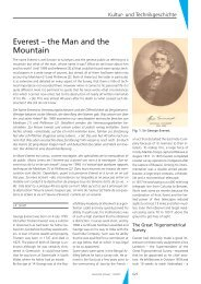 Everest – the Man and the Mountain