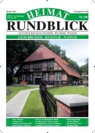 Heimat-Rundblick Nr. 106 herbst 2013